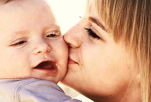 Sweet Baby Kisses Family Love