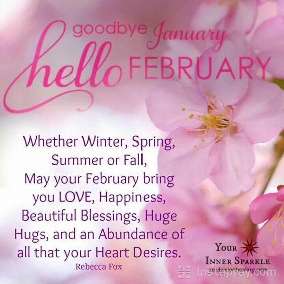 Prayer To Say Goodbye January And Hello February Pictures Photos
