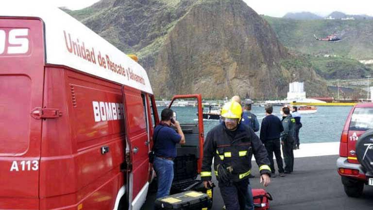 España y Reino Unido investigan las causas del accidente del crucero en La Palma