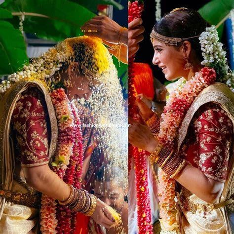 Samantha in Sabyasachi Bridal Silk Saree   Fashionworldhub