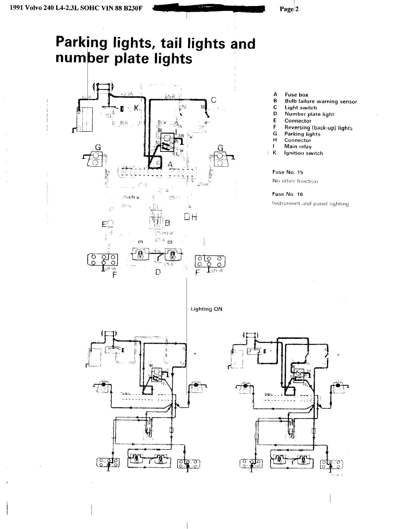 05d62d Volvo 850 Ignition Switch Wiring Diagram Wiring Resources