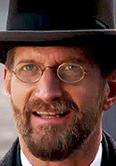Paul Sparks as James Gordon Bennett Sr.