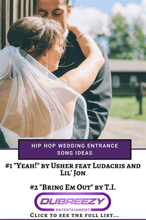 9 Best Hip Hop Wedding Entrance Song Ideas   Seattle