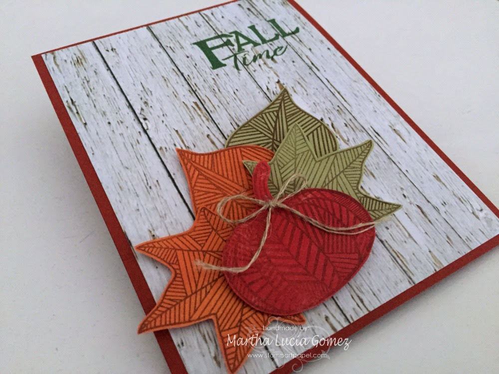 FALL TIME PAPER DESIGN