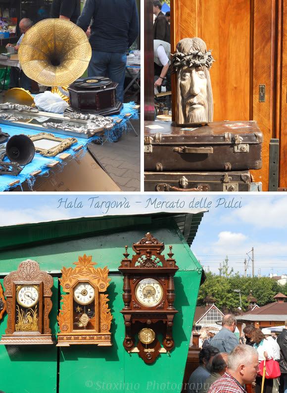 Cracovia: Hala Targowa e il mercato delle pulci