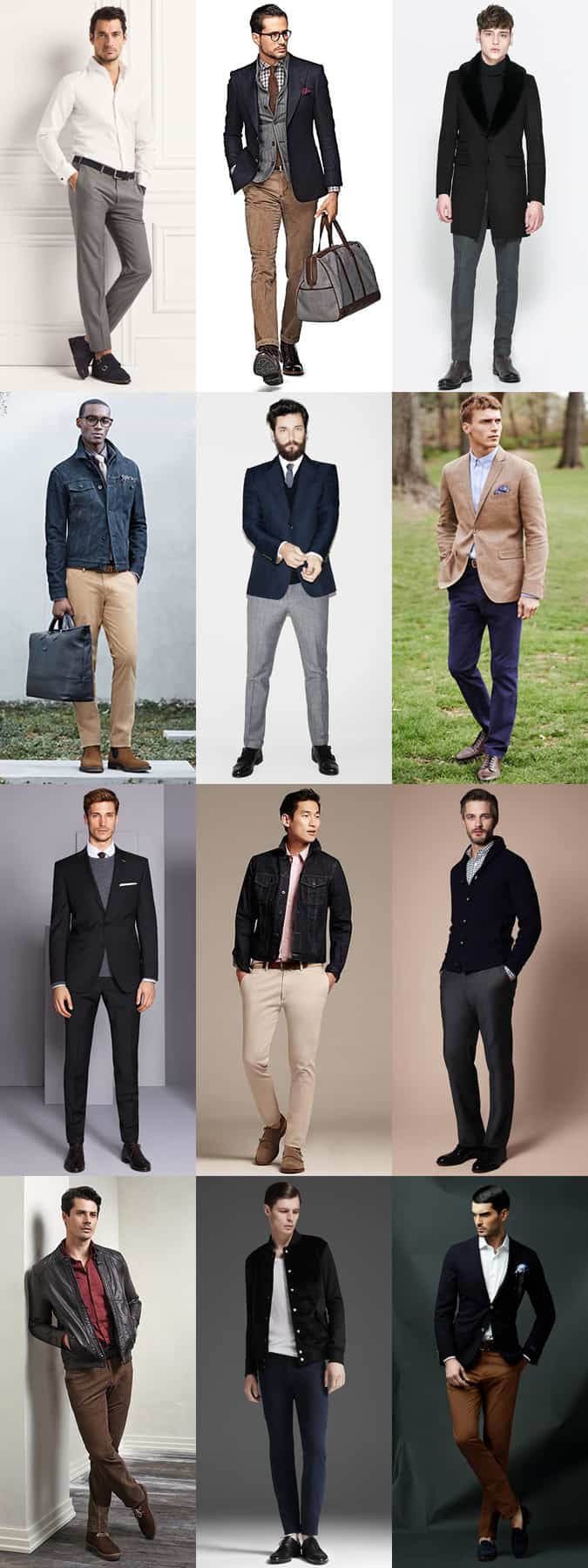 Men's Well-Fitting Clothing Lookbook
