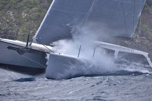 Gunboat 62 Elvis sailing upwind
