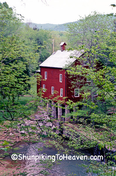 Alvin C. York Gristmill, 1835, Fentress County, Tennessee