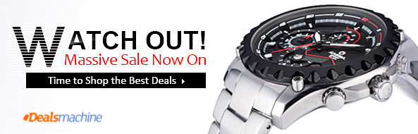Hot Watches Sales! UP to 50% OFF for Massive Men's and Women's Various Watches! Take Control of Your