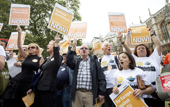 Brexit campaigners
