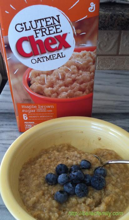 Gluten-Free Children's Vitamin and Gluten-Free Chex Oatmeal