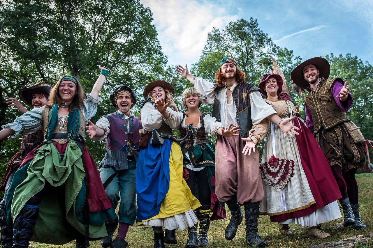 Image result for fall autumn renaissance festival carnival art
