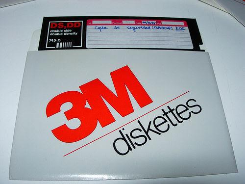 Diskettes 3M 02