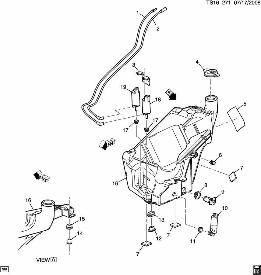 30 2005 buick rendezvous fuse box diagram