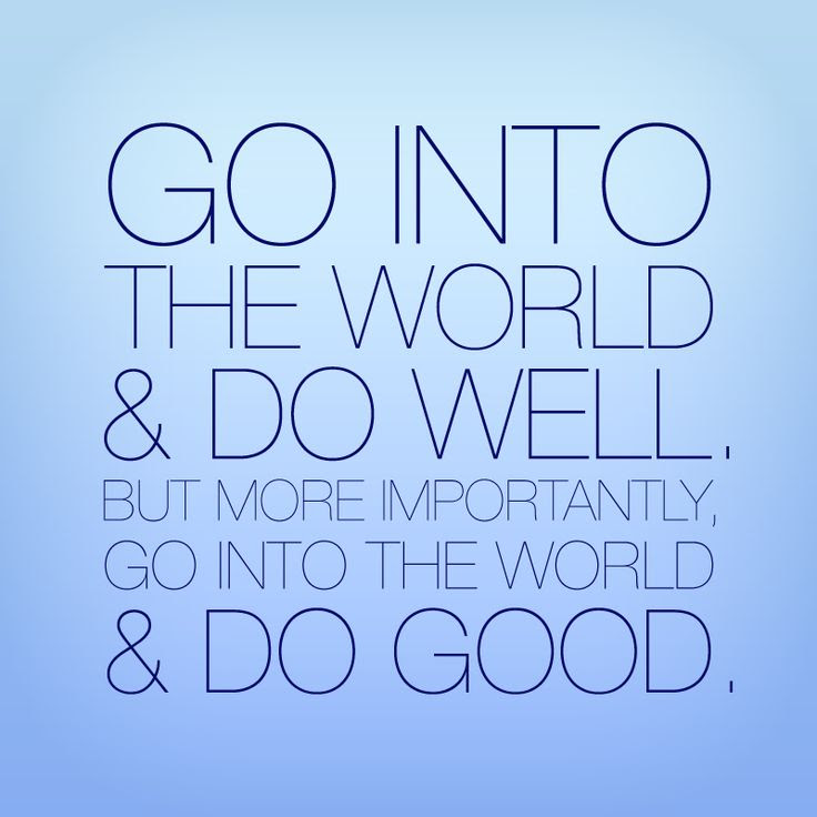 Go Out Into The World And Do Good Author Michelle Zink