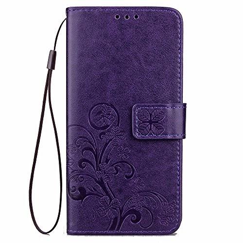 Flip Case Cover Libro Custodia Eco Pelle Portafoglio Nero Per Xiaomi Mi A1 Mi 5X