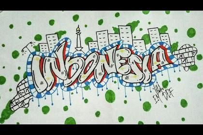 20+ Koleski Terbaru Menggambar Grafiti Keren Gambar Grafiti Tulisan