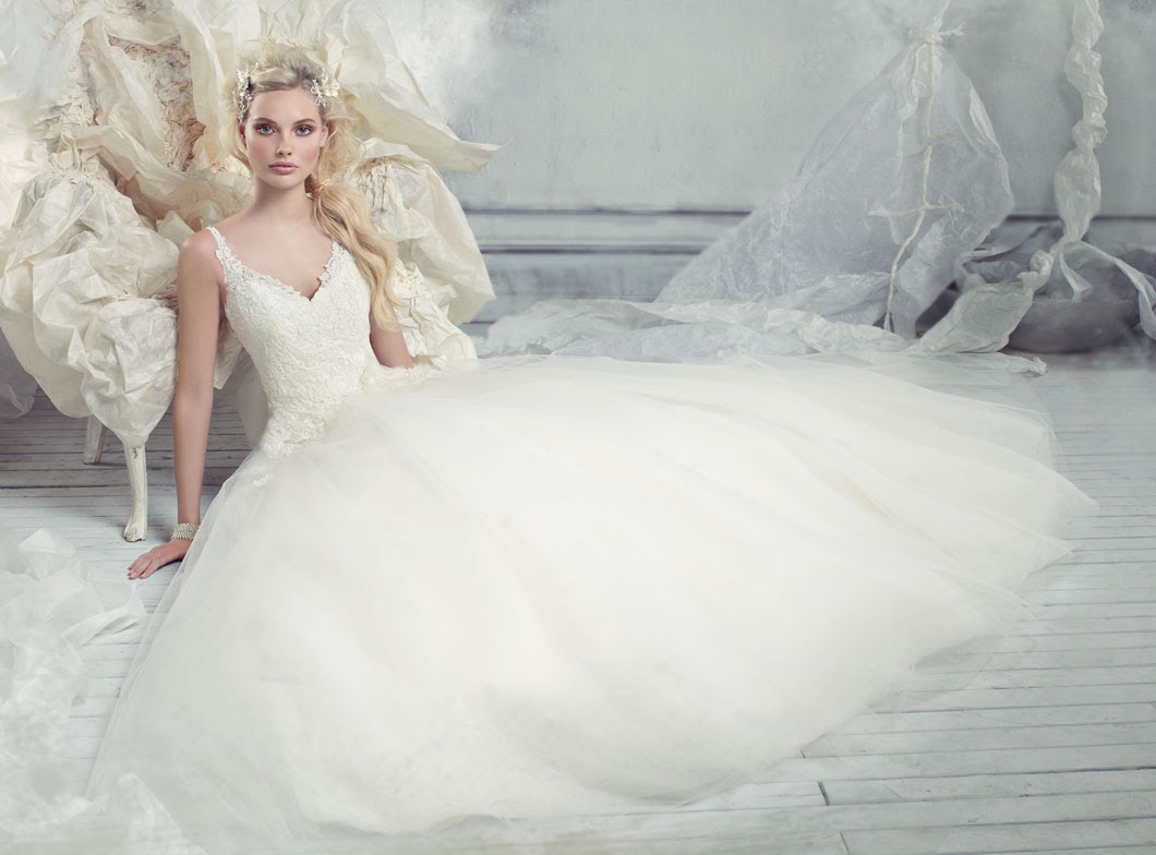 Alvina Valenta Bridal Gowns, Wedding Dresses Style AV9301 by JLM Couture, Inc.