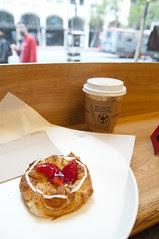 Strawberry Pastry, Andersen Bakery, San Francisco