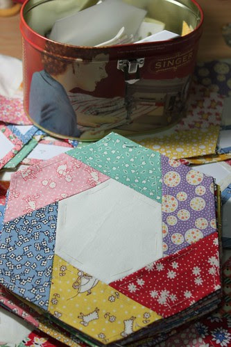 Hexagon quilt revisited