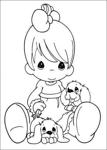 Nino Tirando Basura Dibujo