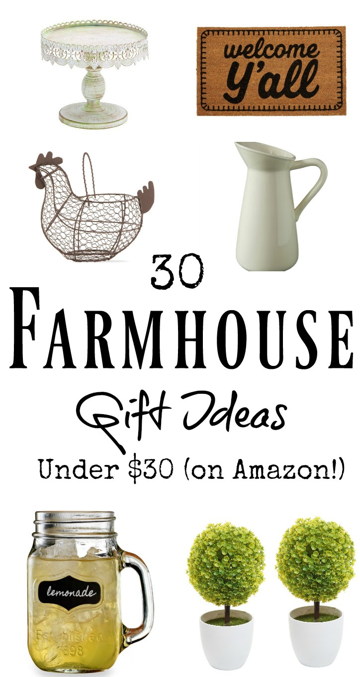 30 Farmhouse Gifts Under 30 On Amazon Southern Made Simple