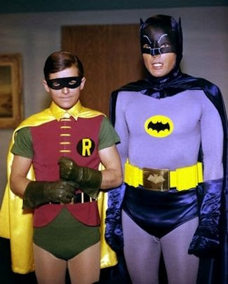 Batman - Burt Ward and Adam West