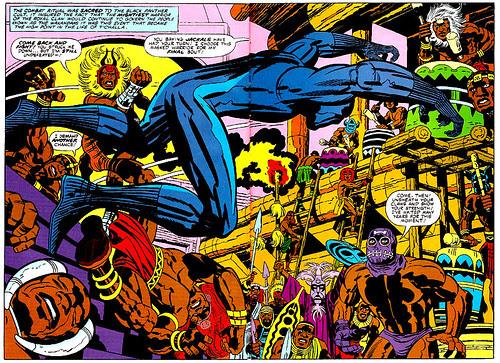 Black Panther #8 panel