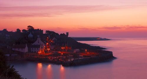 Crail Harbour by Stuart Stevenson