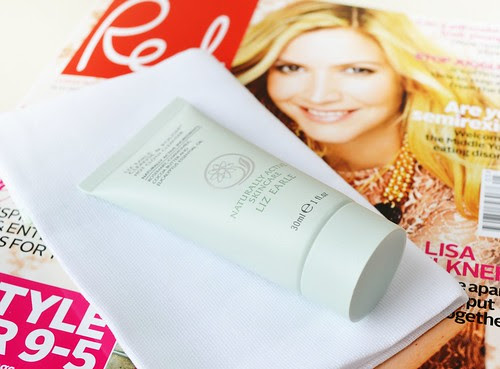 Liz Earle Cleanse & Polish Red Magazine April 2012