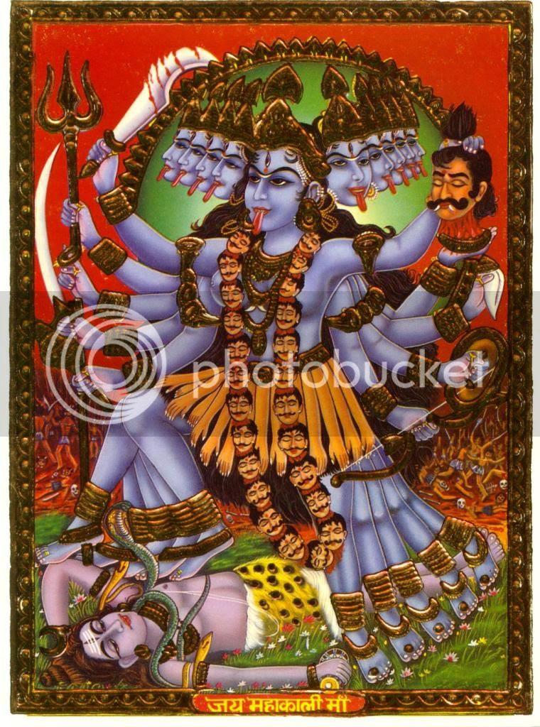 Maha Kali - The Goddess of Yogic Transformation and Might
