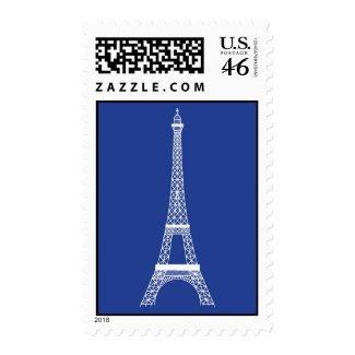 Eiffel Tower Elegant Postage