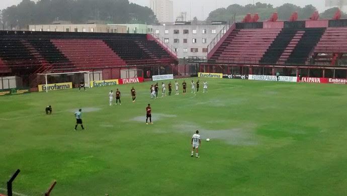 Atlético-PR x Palmeira-RN Copa São Paulo de Futebol Júnior (Foto: Cairo Barros)