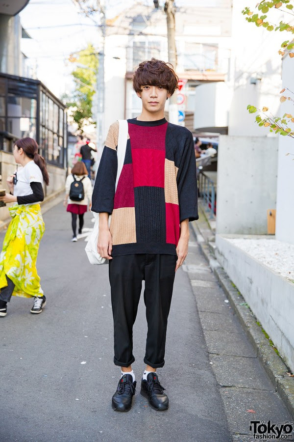 Business as Usual Patchwork Sweater