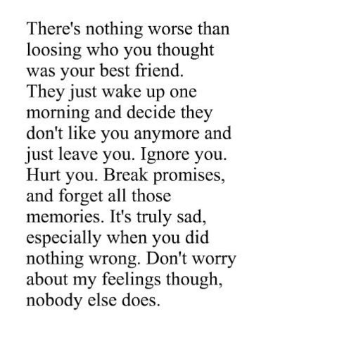 Quotes About Sad Best Friends 16 Quotes