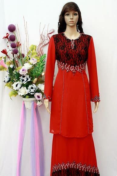 pakaian merah merah pinterest