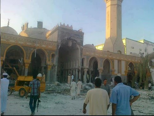 Rebels in Libya destroy religious shrines. The rebels are divided and obviously there is no real authority in the country in the aftermath of US-backed regime change against Gaddadi. by Pan-African News Wire File Photos