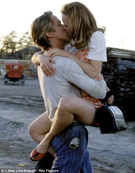 Parte descoberta: Rachel e Ryan Gosling quebrou corações público em 2004 Notebook O clássico romântico
