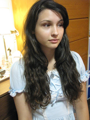 Starting out: long hair