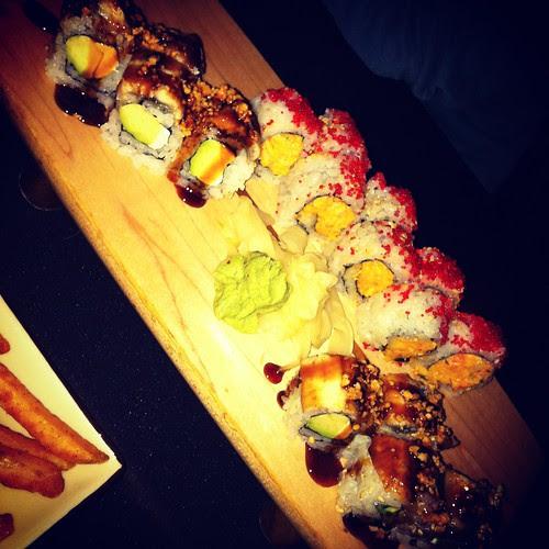 Christmas Eve Eve Sushi