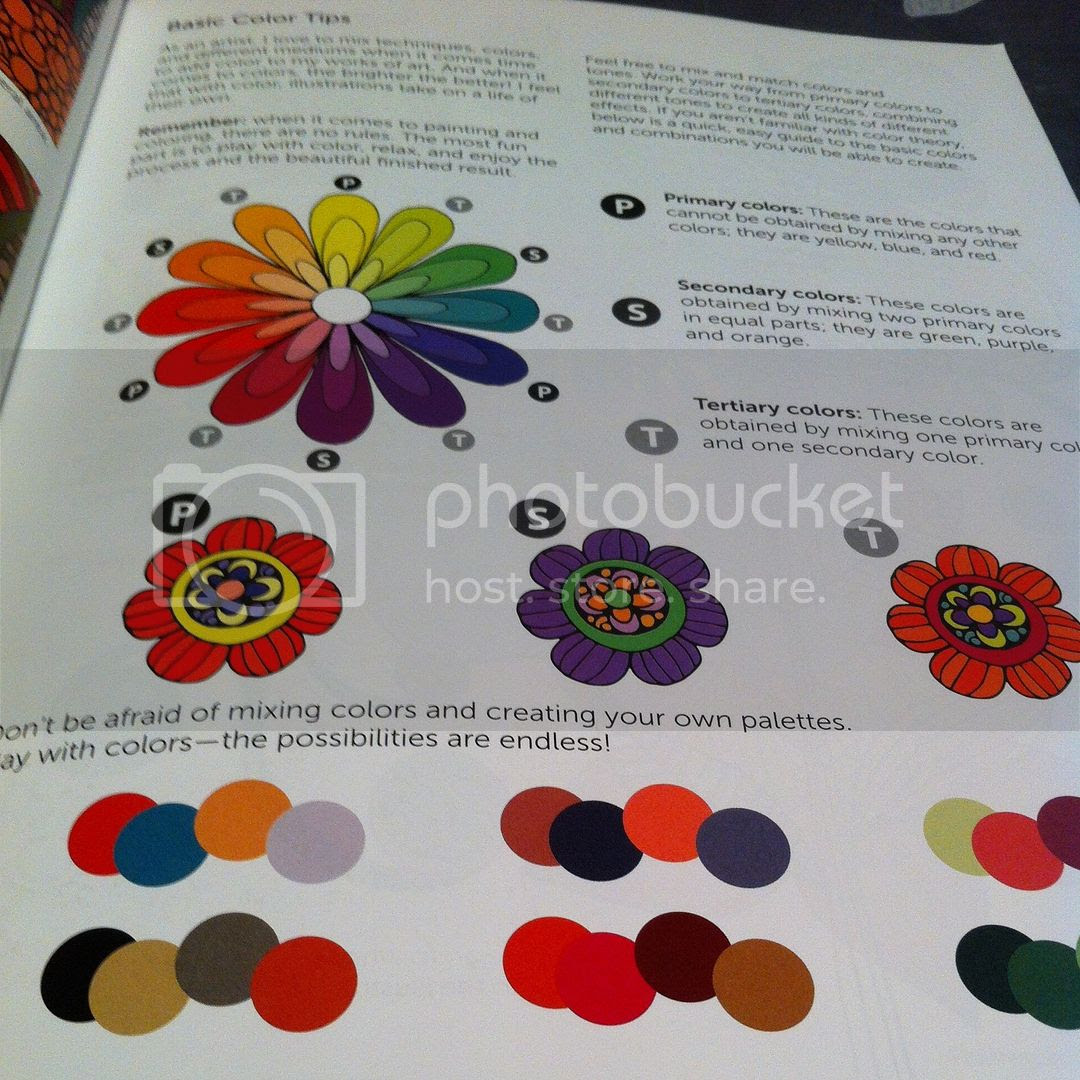 Creative Colouring Inspirations - colour tips