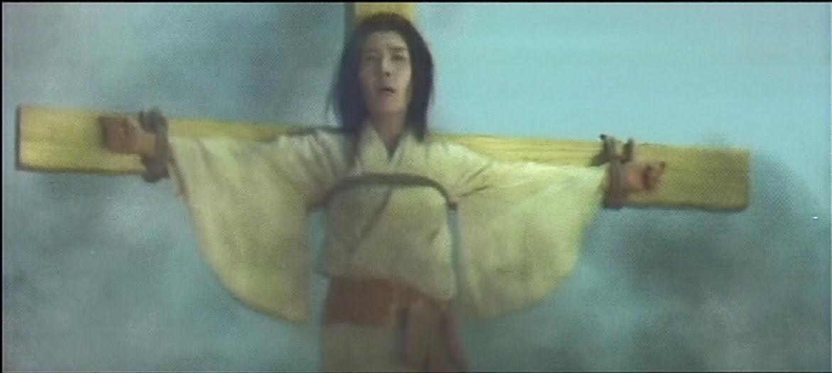 Lady Sayuri as the offering to God, Daimajin
