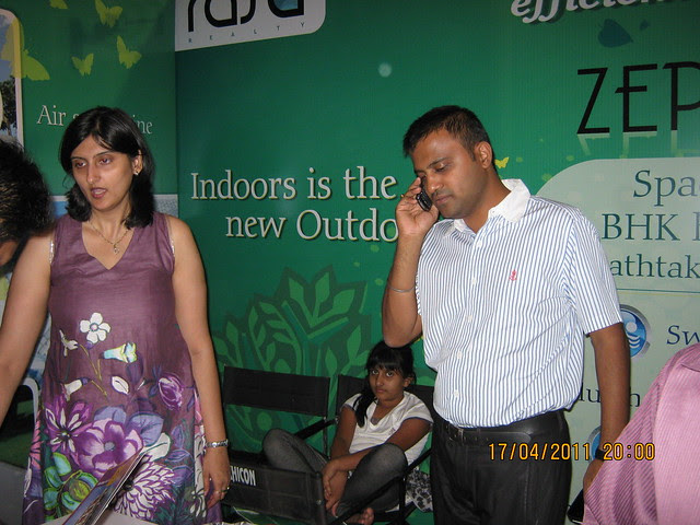 Magicbricks' Pune Western Suburb 2011 Property Show 2011: Stall of Rasa Realty's Zephyr - 2 BHK Flats and Paint-houses - opposite Suryadatta Institute - Bavdhan Budruk Pune