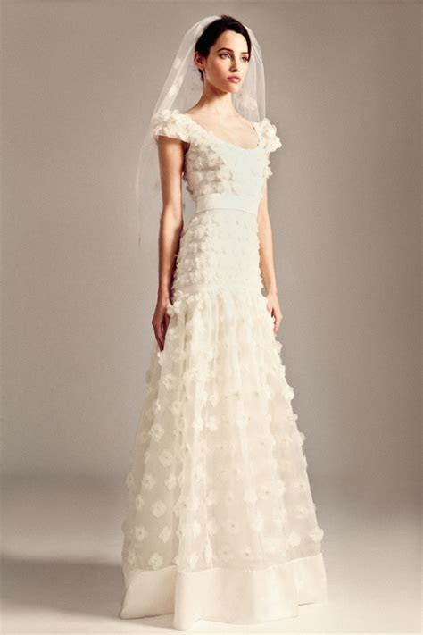 Applique Wedding Dress