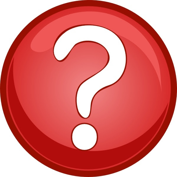 Red Question Mark Circle clip art Free vector in Open ...