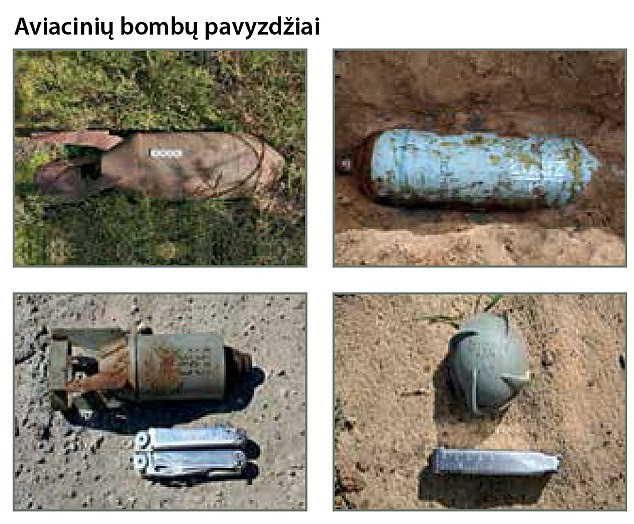 the booklet also shows how to recognise Russian arms, including tanks, guns and mines