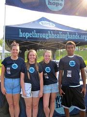 Water = Hope volunteers in Raleigh