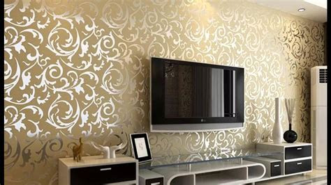 wallpaper  living room walls   ideas