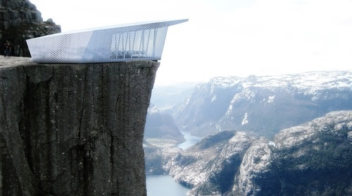 Pop-Up Restaurant Will Sit Atop Famous Buildings and Mountains