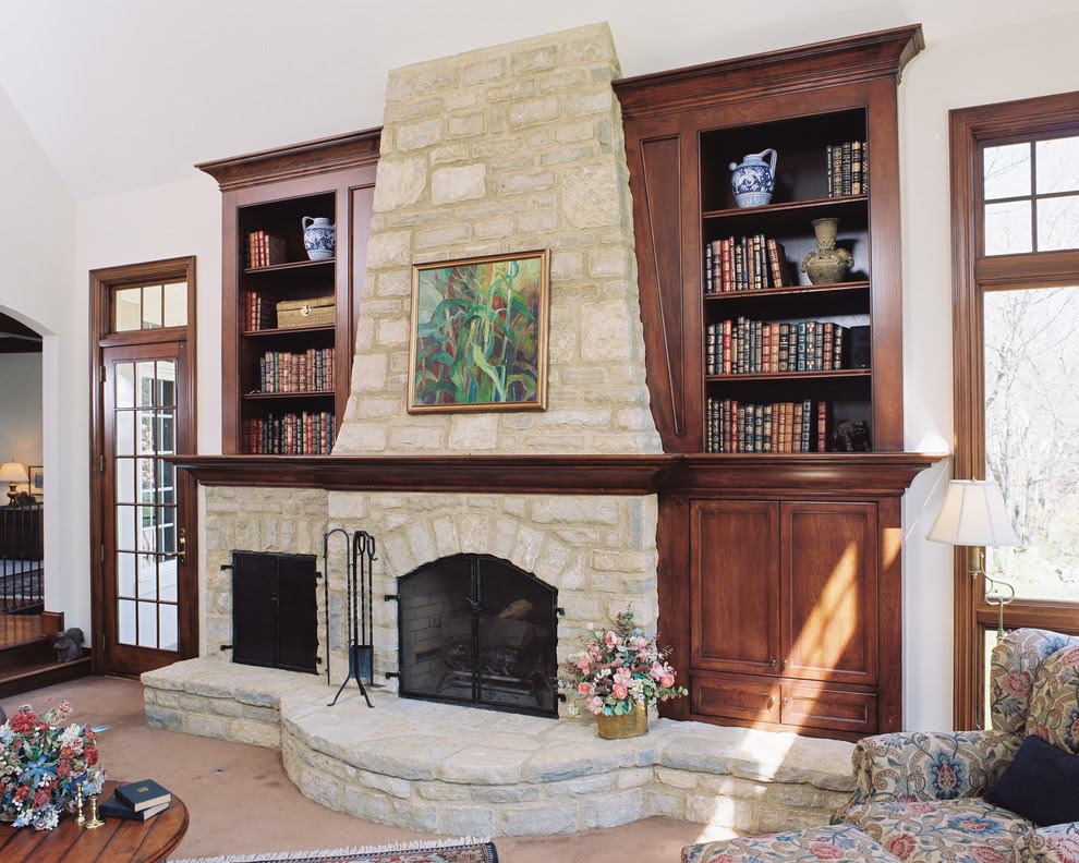 Shelving On Both Sides Of Fireplace Best House Interior Today